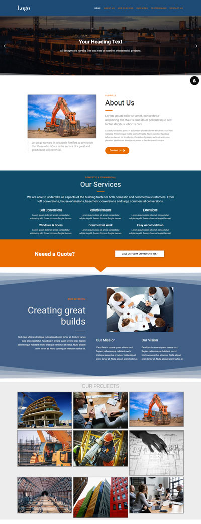 builder-website-design