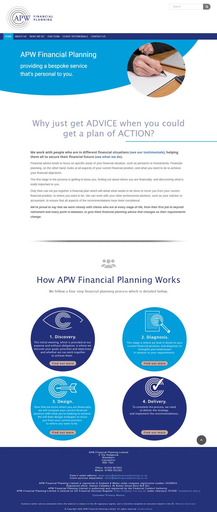 finanacial-website-design-APW-Financial-Planning