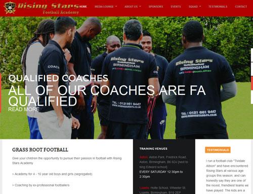 web-site-design-sports-club